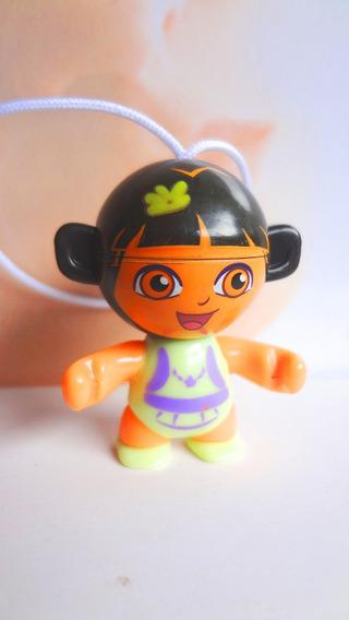 Figura De Huevo Kinder De Dora Vestido Verde