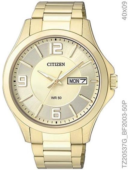 Relógio Citizen Feminino Dourado Tz20537g
