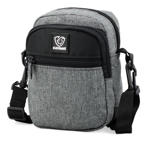 Imagem 1 de 5 de Shoulder Bag Bolsa Tira Colo Necessaire Pochete Everbags 5