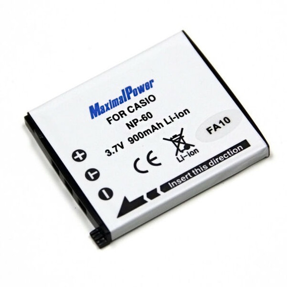 Bateria Para Camara Casio Modelos Exilim ,exfs10,exs10,exs12