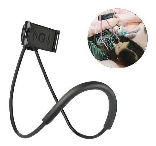 Soporte Celular Cuello Sujetador Flexible Cama Variedad