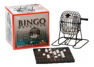 Juego De Bingo Con Bolillero De Metal Marca Bisonte