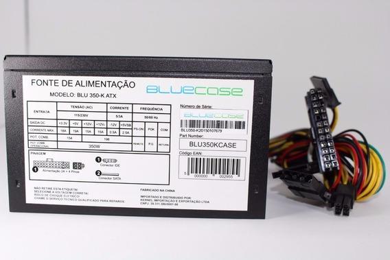 Fonte Atx 350w Bluecase Mpv-350atx Recondicionada Kit 10pçs