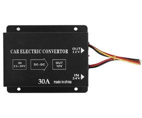Conversor Inversor Transformador Voltagem 24v Pra 12v 30a