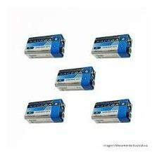 Bateria Para Sensor 9v Super Energy