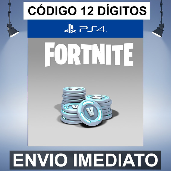 Fortnite 3000 V-bucks Código De 12 Digitos Ps4