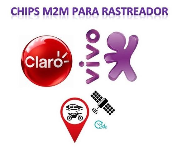 Chip M2m Rastreador Vivo E Claro + Plataforma Tk 303, Tk 103