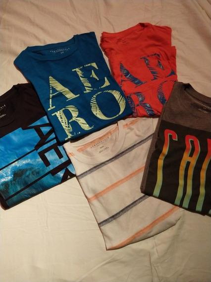 T Shirts Aeropostale Varios. Usadas , En Muy Buen Estado. 3