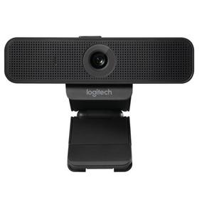 Webcam Full Hd 1080p Logitech Com Cortina De Privacidade C9