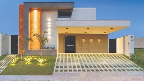 Imagem 1 de 12 de Casa À Venda, 300 M² Por R$ 1.890.000,00 - Condomínio Residencial Alphaville I - Votorantim/sp - Ca2550