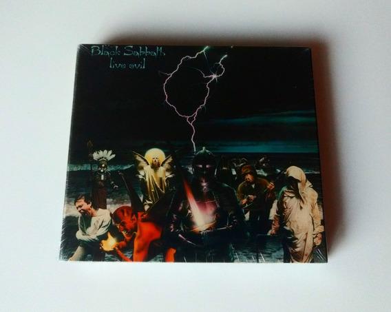 Box 2 Cd Black Sabbath Live Evil Deluxe Paranoid Mob Rules