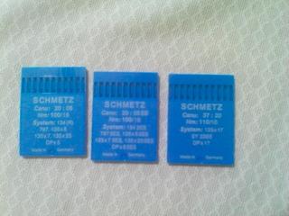 Agujas Para Máquina De Coser Marca Schmetz Alemanas