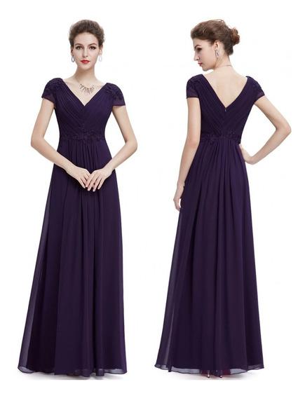 Vestido Mujer Gala Noche Fiestacocktail Largo Elegante