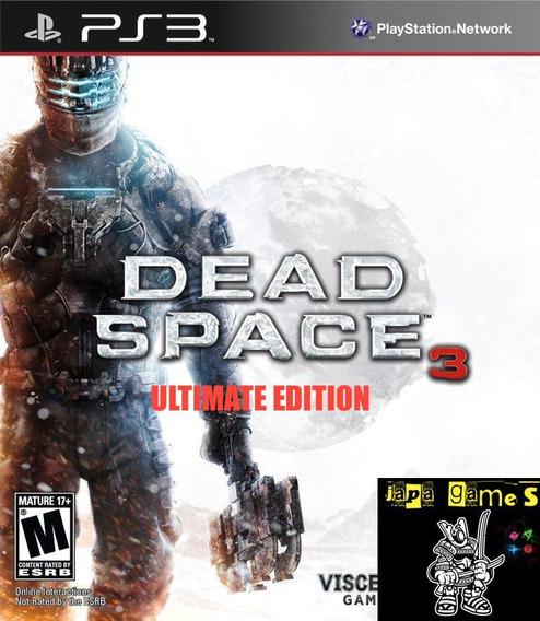 Dead Space 3 Ultimate Edition Jogos Ps3 Psn Original