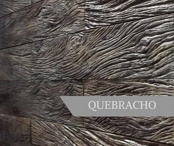 Revestimiento Símil Madera - Quebracho 50x12cm - Línea Wood