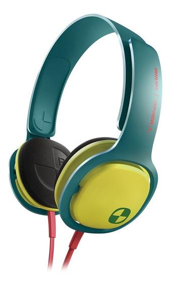 Fone Philips Oneill Sho3300acid Sho3300 * Verde C/ Amarelo