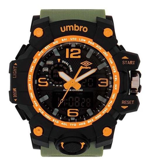 Relógio Umbro Masculino Umb-010-5 C/ Garantia E Nf