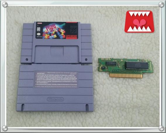 Jogo Tetris 2 Original Super Nintendo Snes