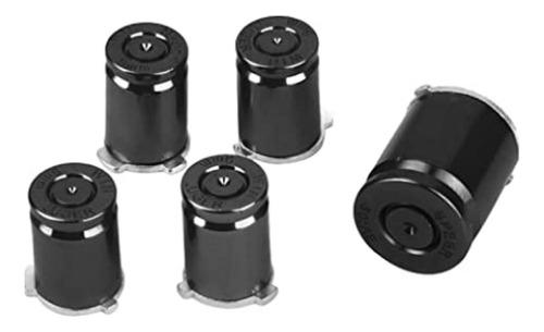 Imagen 1 de 2 de Set Botones Tipo Bala Metal Control Xbox 360 Varios Colores