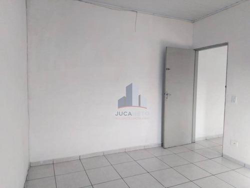 Imagem 1 de 8 de Casa Com 1 Dormitório Para Alugar Por R$ 550,00/mês - Jardim Zaira - Mauá/sp - Ca0444