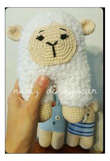 Sonajero Crochet - Tienda Nariz De Azúcar