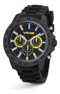 Reloj Official Valentino Rossi Vr46 Nuevo Steel Yamaha Ofi