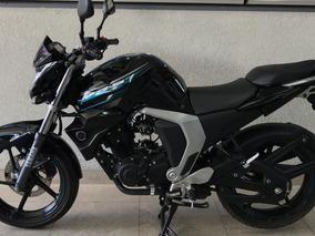 Yamaha Fz Fi 2.0 Negro Turquesa Modelo 2017 Solo 6159 Kms