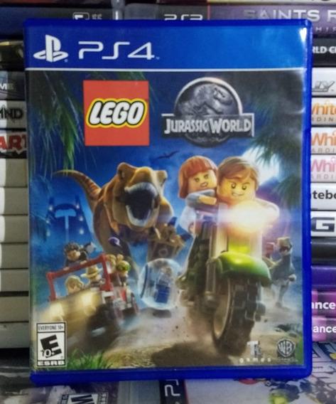 Lego Jurassic World - Ps4 - Mídia Física - Sem Encarte!!