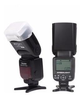 Flash Para Canon Triopo Tr-960ii 6d 70d 60d 5d T5i