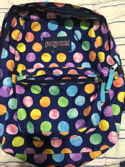 Mochila Jansport Estampada