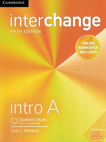 Interchange Intro A Student´s Book With Online Self-study