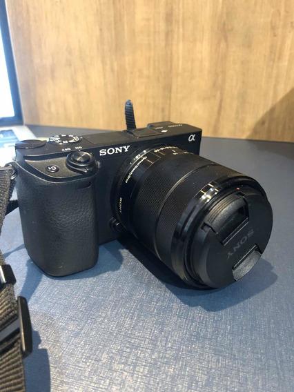 Sony A6300 4k (com Lente: 18-55 E 3.5-5.6)
