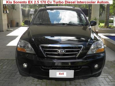 Kia Sorento 2.5 Ex 4x4 Turbo Diesel Intercooler