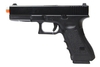 Pistola De Airsoft Glock R17 - Gbb Army Blowback Green Gas