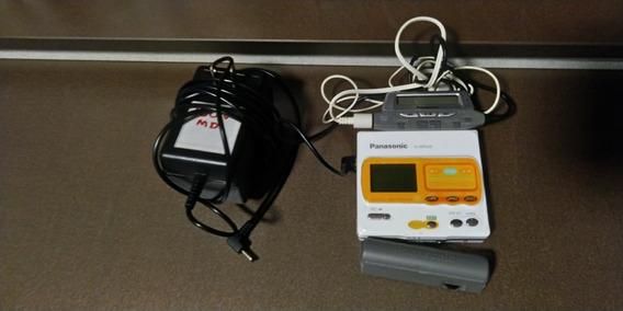 Panasonic Minidisc Walkman Gravador Sj-mr200