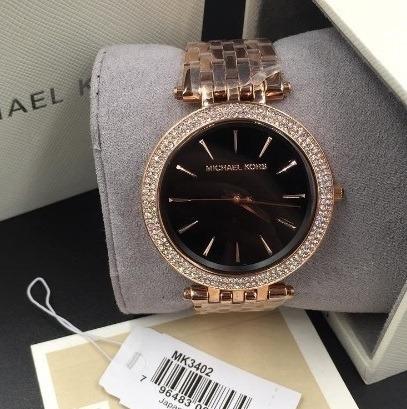 Relógio Michael Kors Mk3402 100% Original Novo Na Caixa