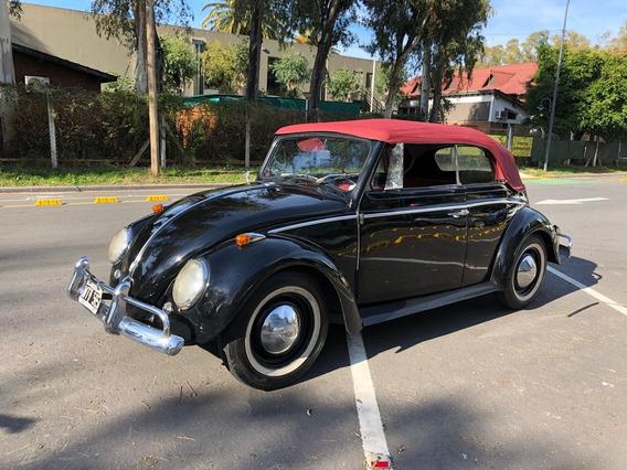 Volkswagen Escarabajo Convertible 1960