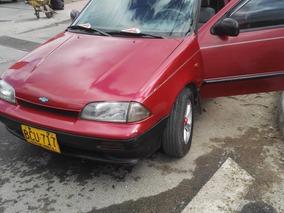 Se Vende:carro Chevrolet Swift Rojo