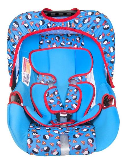Bebê Conforto Super Homem Styll Baby Até 13 Kg G0 Assento Infantil Carro