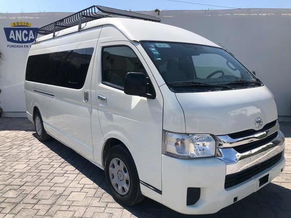 Toyota Hiace 2.7 Bus 15 Pas Mt 2016