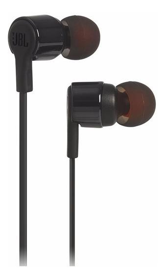 Fone De Ouvido Jbl Várias Cores In Ear T210 Atende Chamada