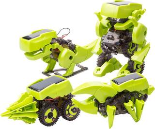 Kit Robot Dinosaurio Solar Educacional 4 En 1
