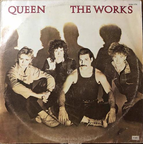 Queen. Disco Lp. The Works 1er. Edición Mexicana, 1984.