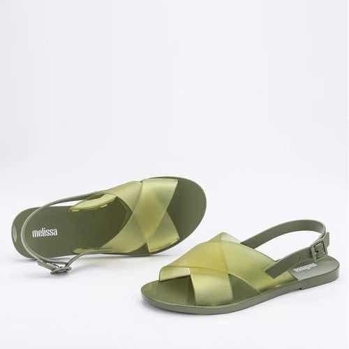 Melissa Essential Sandal Verde