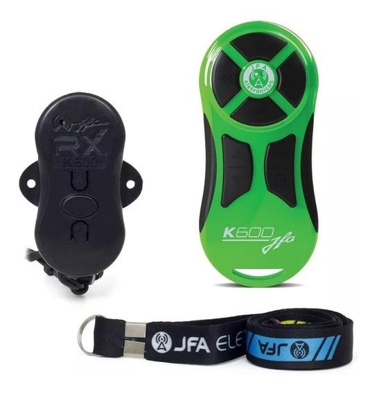 Controle Longa Distância Jfa K600 + Central Verde / Preto