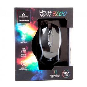 Mouse Gamer Usb Gt Gaming 3200 Goldentec 4 Cores Led
