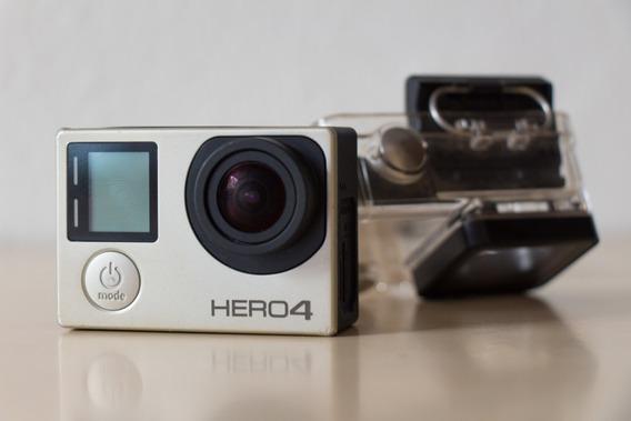 Câmera Digital Gopro Hero4 Silver