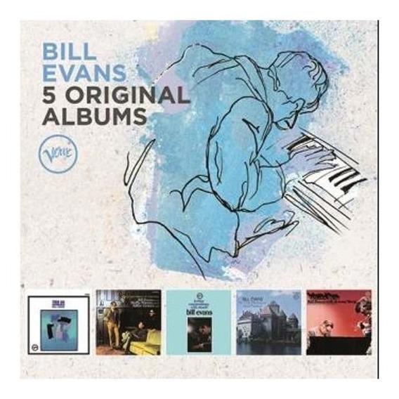 Evans Bill 5 Original Albums Cd X 5 Nuevo
