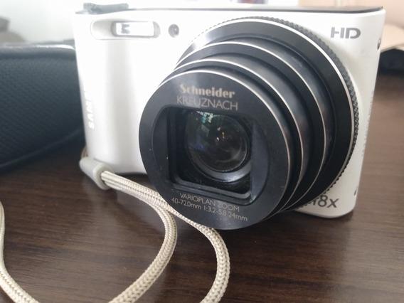 Câmera Samsung Semi Profissional Wb150f Branca
