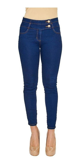 Jeans Push Up Para Mujer Casuales Incognita Stone